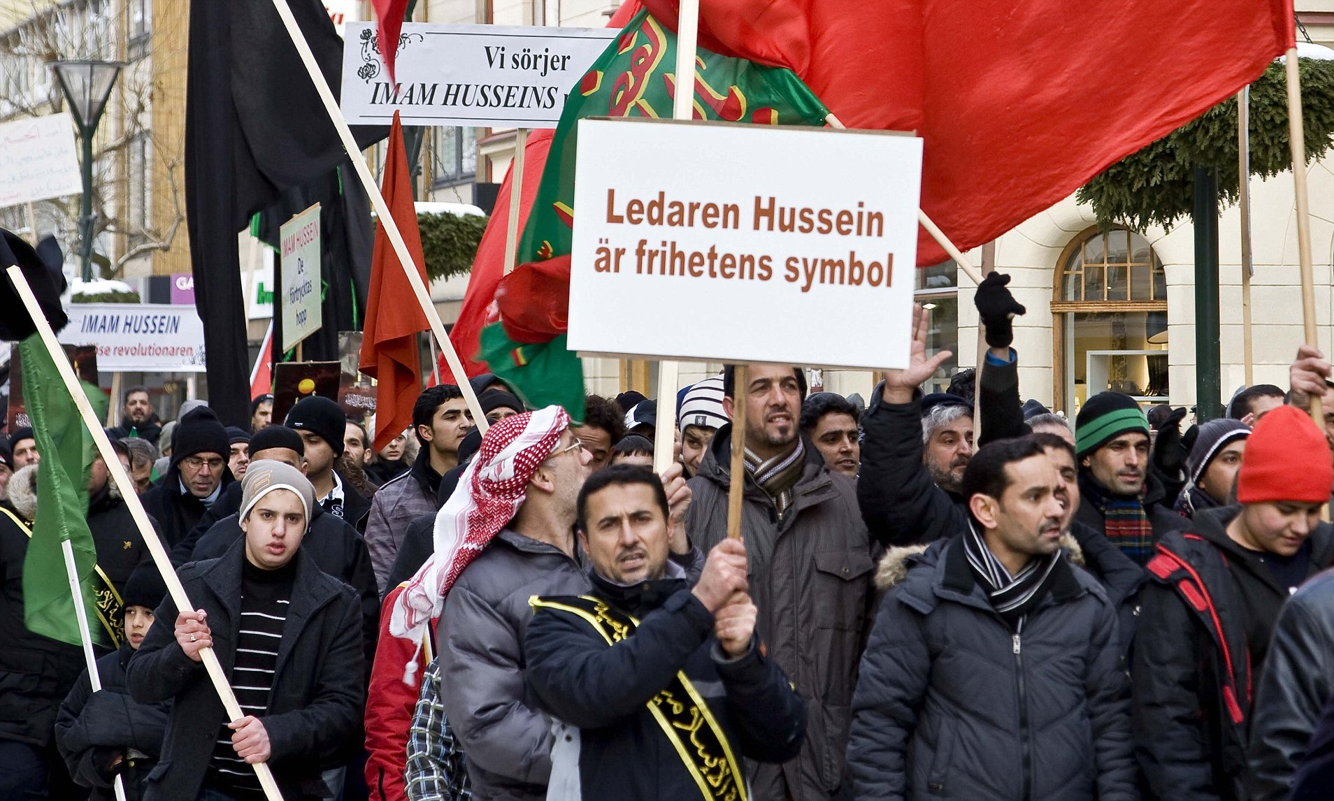 The Islamists of Sweden, slowly turning Sweden into a