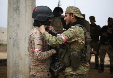 Turkey-backed rebels say they've seized town in Syria's Idlib in first advance