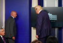 Trump escorted from briefing after shooting near White House