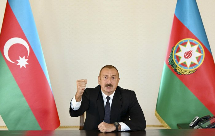 Azerbaijan's parliament approves martial law, curfews: president's aide