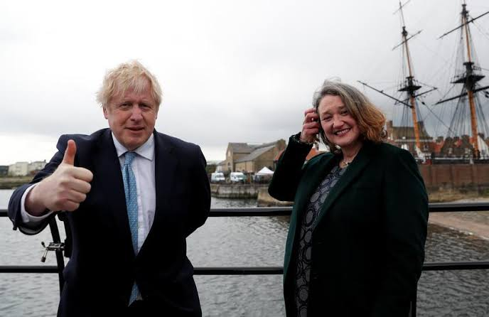 Voters flock to PM Johnson's party as Labour loses bastion