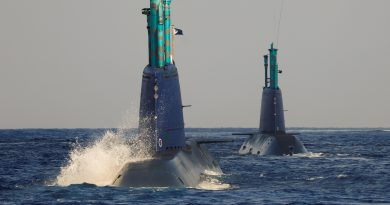 In the belly of the whale: Israeli sub simulates strike