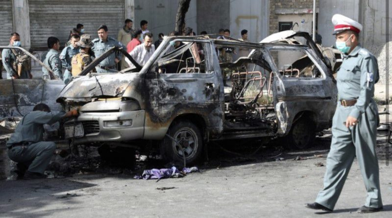 Blasts on buses in western Kabul kill at least 7: Police