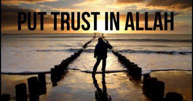 FAITH: Trust in Allah